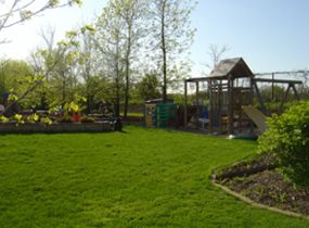 K-K Family Child Care Playgound